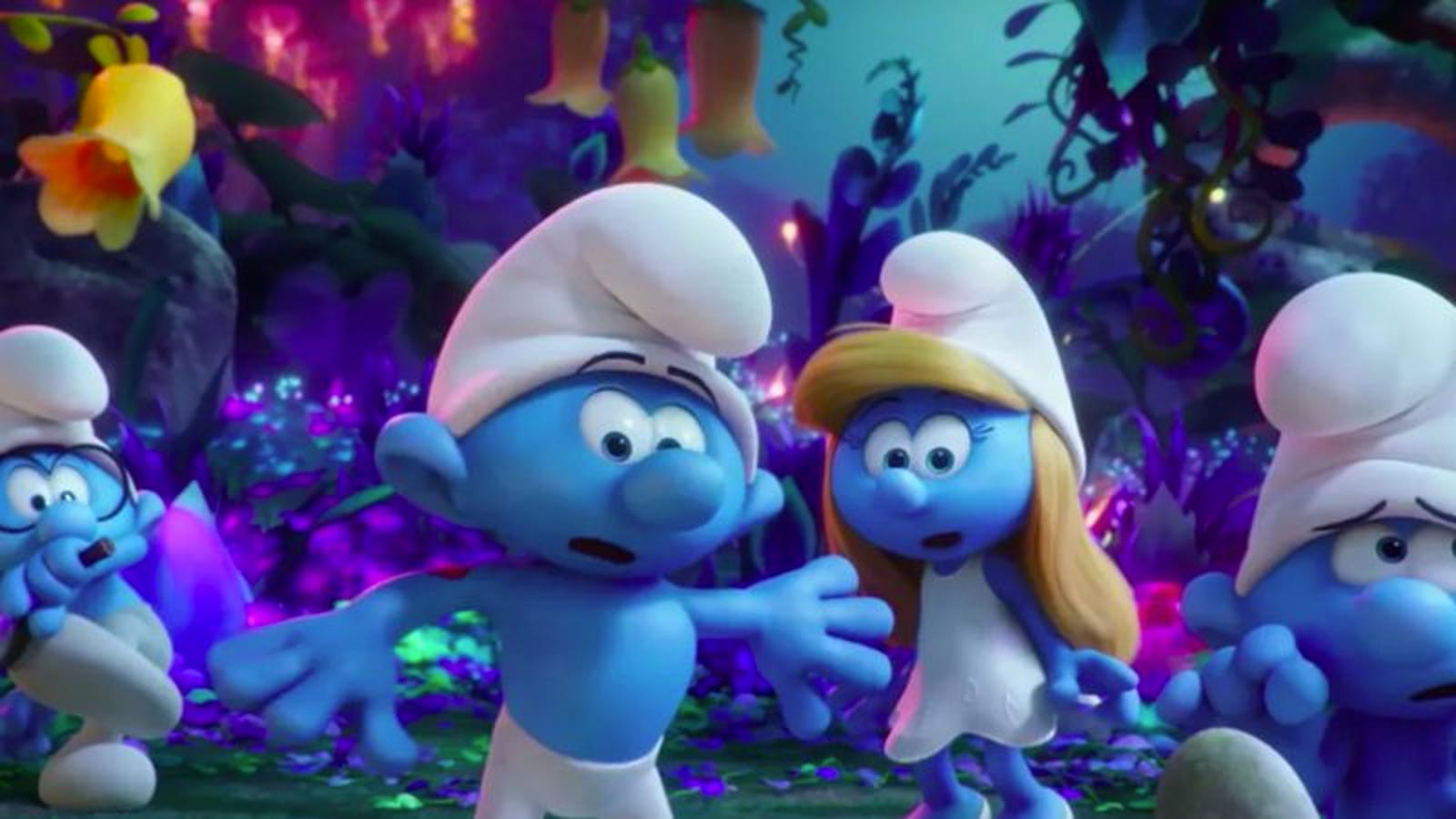 Julia Roberts, Michelle Rodriguez, and Ellie Kemper join Smurfs: The ...