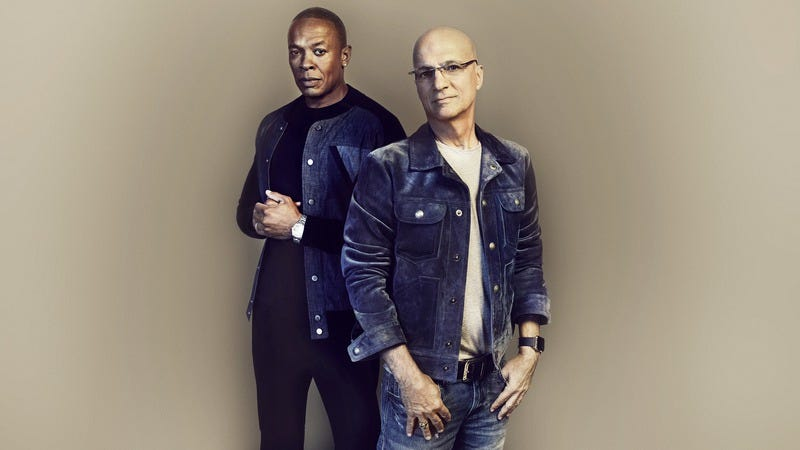 Dr. Dre, Jimmy Iovine (Photo: Joe Pugliese/August/Courtesy of HBO)