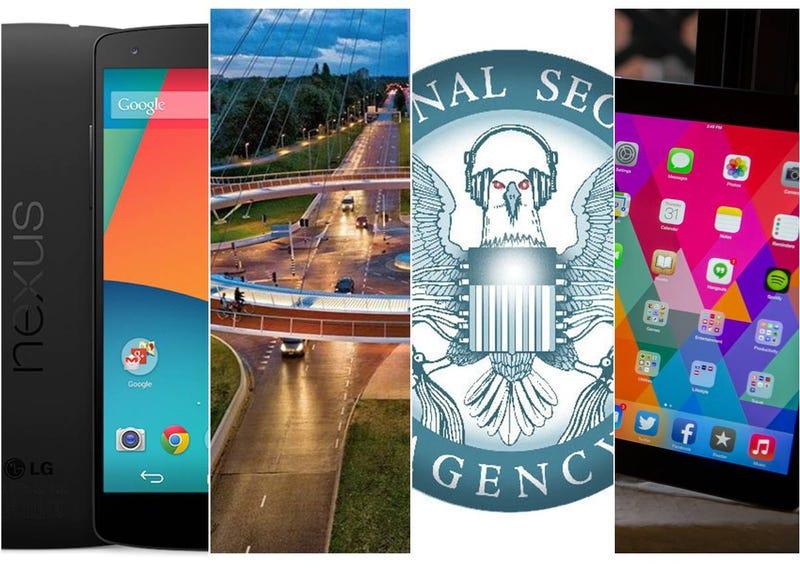 Illustration for article titled Nexus 5, iPad Air y fotos nunca vistas, las historias de la semana