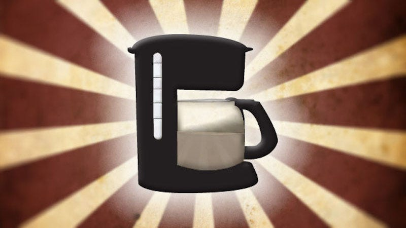 Illustration for article titled Your Top Five Picks For Best Coffee Maker (2016)