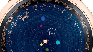 Illustration for article titled This Planetarium Watch is Elegant, Impressive, and Expensive