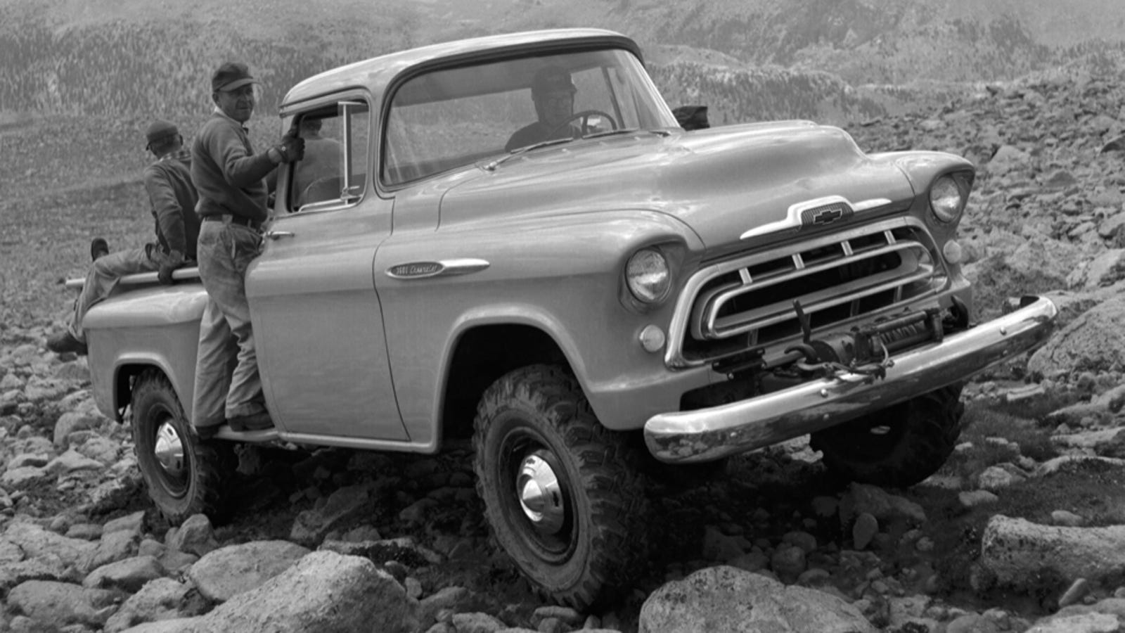 A Brief History Of How The Aftermarket Invented Gms 4wd Trucks 1950 Willys Jeep Pick Up