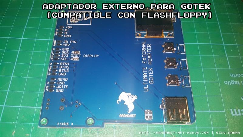 Illustration for article titled Adaptador externo para Gotek (compatible con flashfloppy)