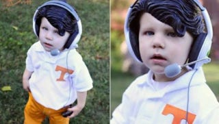 Illustration for article titled This Evening: Toddler Derek Dooley, Who Has Just As Many SEC Victories This Season As The Real Derek Dooley
