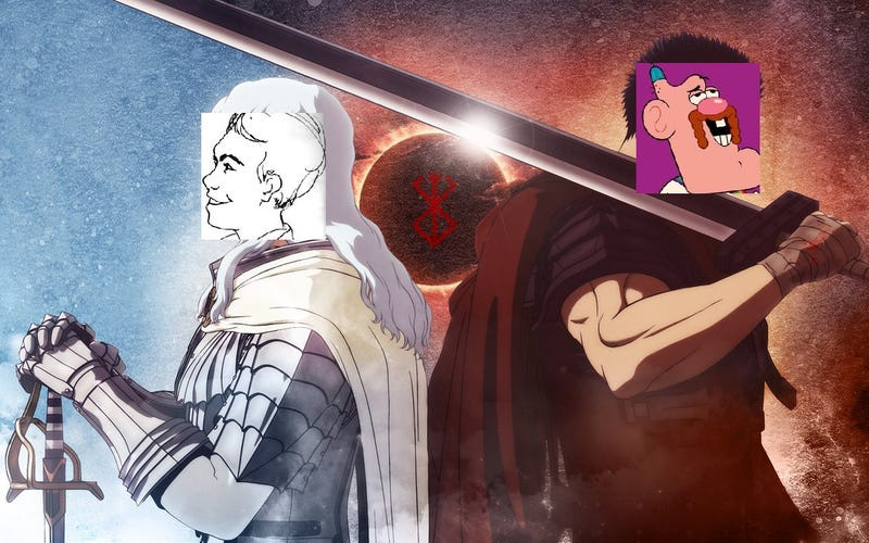 Illustration for article titled How many AniTAY writters are needed to cover Berserk Anime? Two!