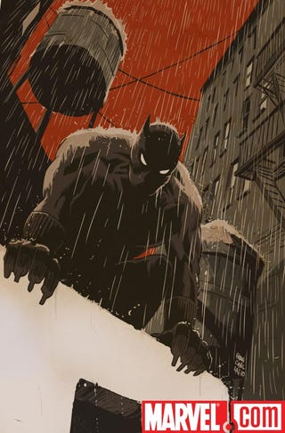 Illustration for article titled The Marvel Universe's noir New York by Francesco Francavilla