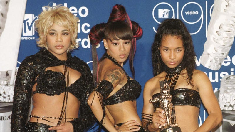 TLC at the MTV Video Music Awards in 1999