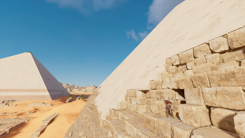 Illustration for article titled This Week's Giza Pyramid Discovery Was Already Built Into Assassin's Creed Origins