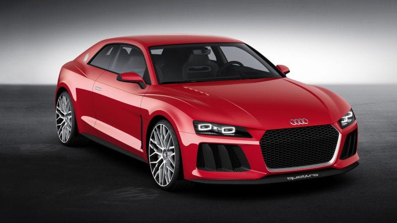 The Audi Sport Quattro Concept Is Dead Despite A New Boss From - Audi concept