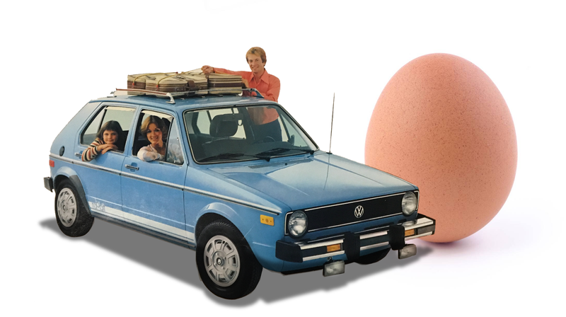 Illustration for article titled This Old Volkswagen Rabbit Brochure Makes A Couple Of Really Weird Points