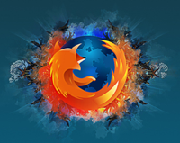 Illustration for article titled High-Res Firefox Wallpaper