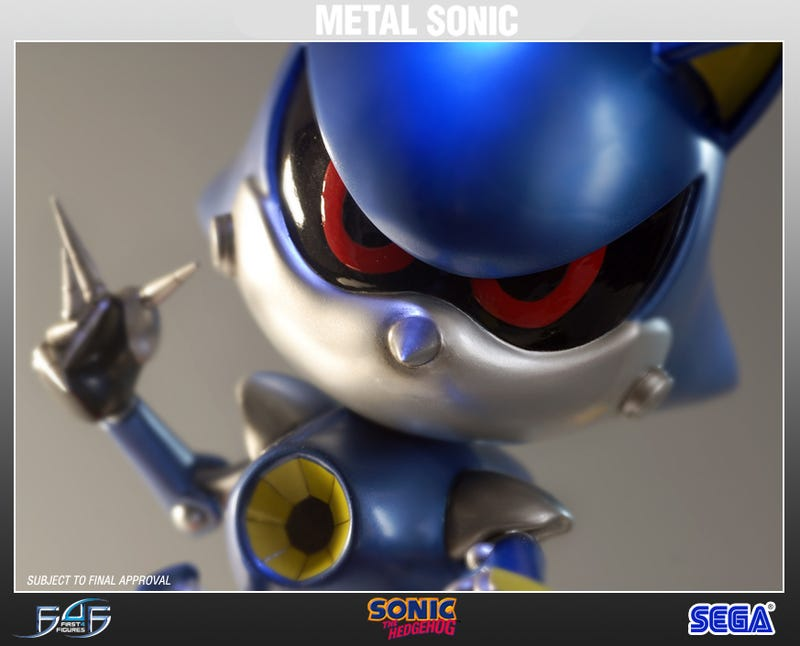 Illustration for article titled Metal Sonic Gallery
