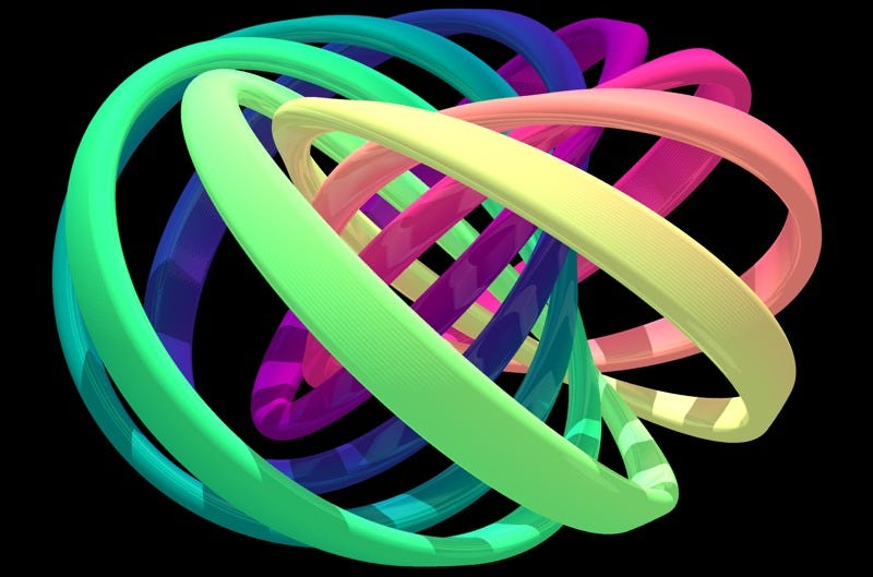 Illustration for article titled Physicists Successfully Tie the Very First Quantum Knots