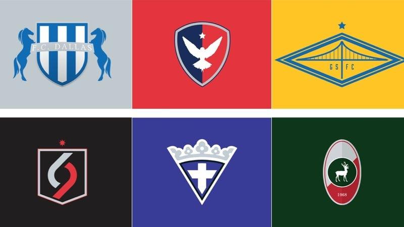 nba logos as european soccer badges. Black Bedroom Furniture Sets. Home Design Ideas