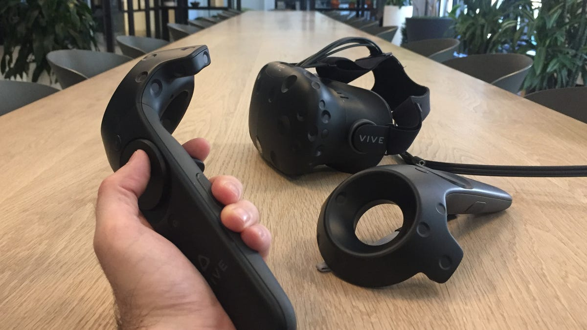 The Valve-Backed HTC Vive Is Virtual Reality At Its Best And Worst