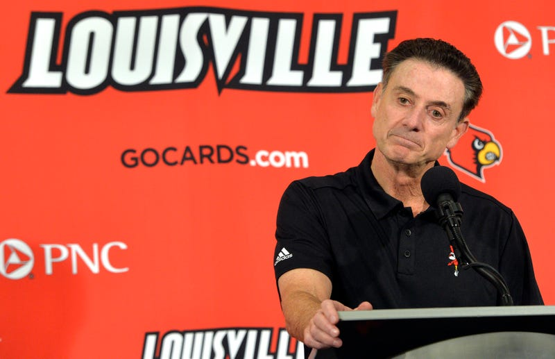 """Illustration for article titled Rick Pitino: """"I Will Not Resign"""""""