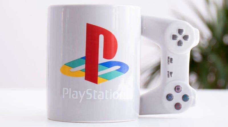 PlayStation Controller Mug   $13   Firebox