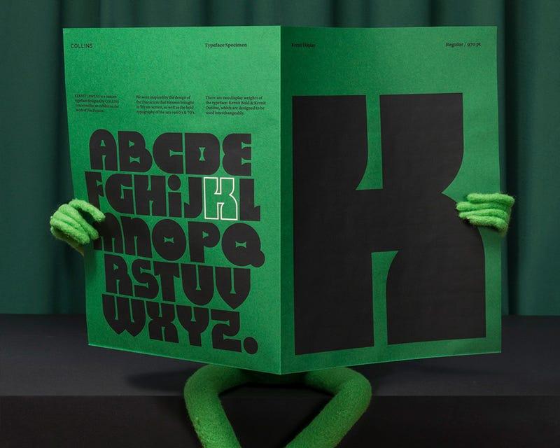 Illustration for article titled Kernit Is the Jim Henson-Inspired TypefaceMuppet Fans Deserve