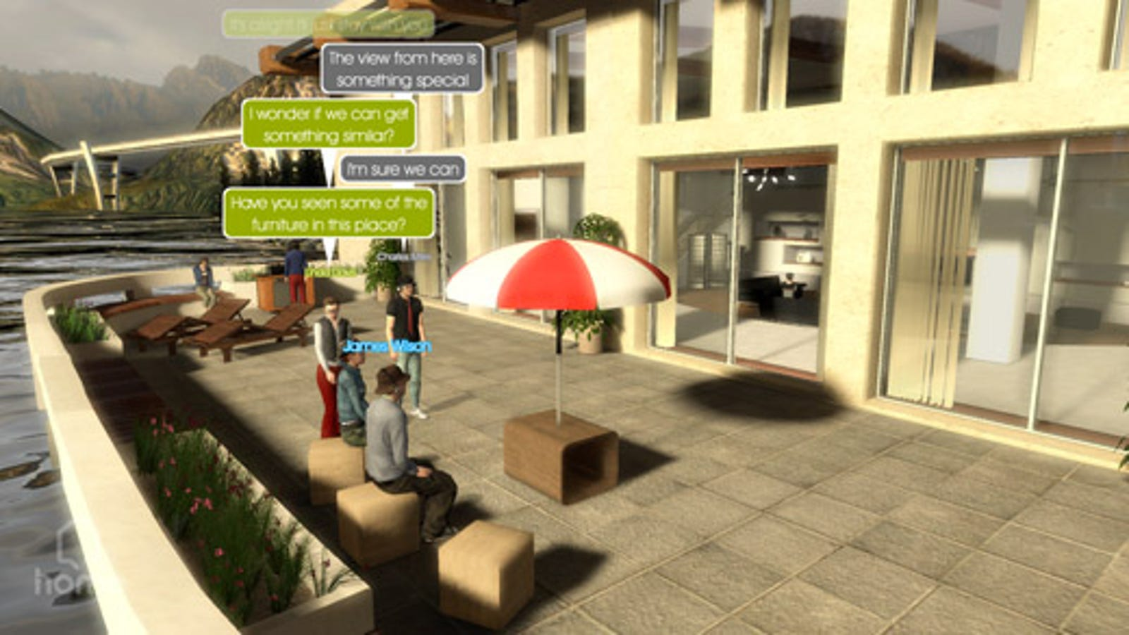 PlayStation Home Combines the Best of Nintendo's Miis, a few