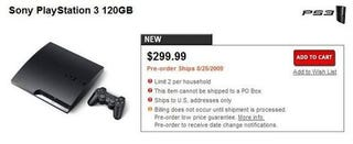 Illustration for article titled Sony, GameStop Indicate PS3 Slim Available In U.S. Before September