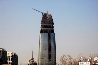 Illustration for article titled Another Penis-Shaped Building Erected in China