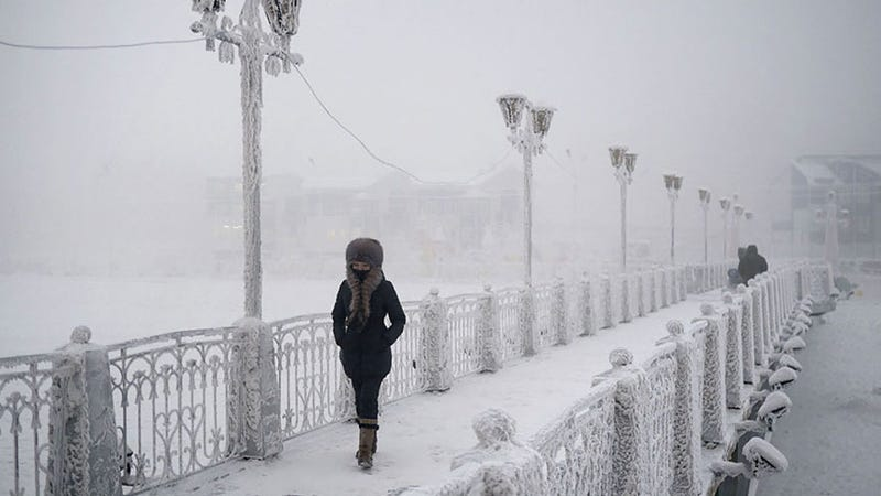 Bienvenidos a Oymyakon y Verkhoyansk, los lugares habitados más fríos del planeta - Gizmodo en Español