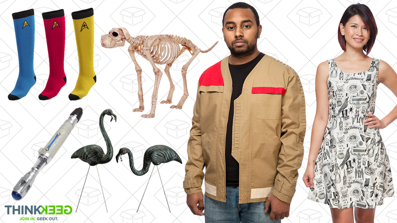 Up to 75% off select ThinkGeek Halloween items