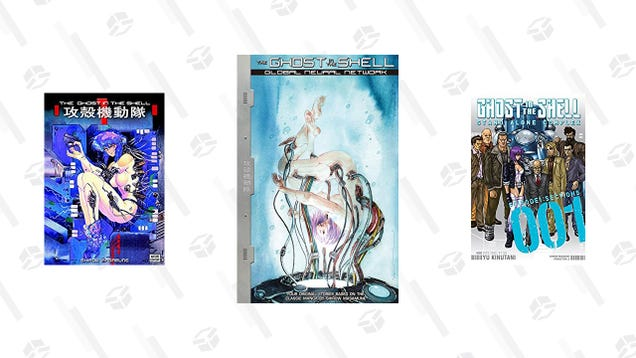 Save Up to 50% On Ghost of the Shell Manga for the Kindle