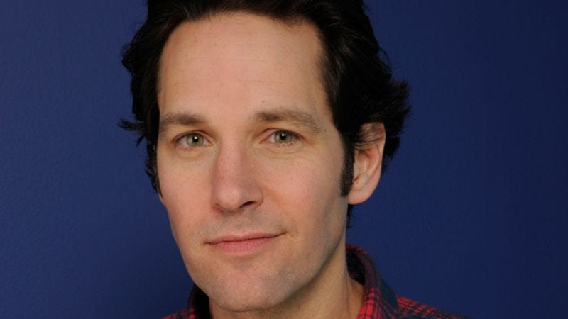 Illustration for article titled Paul Rudd