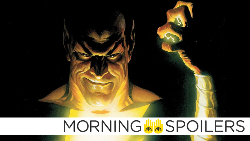Dwayne Johnson Thinks the Black Adam Movie Could Start Shooting Next Year