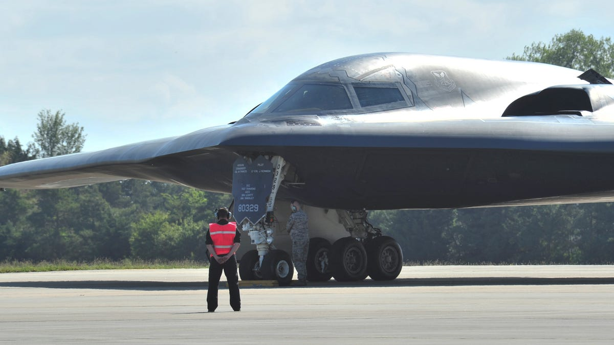 B-2 Stealth Bombers Appear In Europe As Tensions Rise With