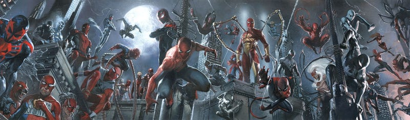 Illustration for article titled Marvel Plans A Crisis Of Infinite Spider-Men In Spider-Verse