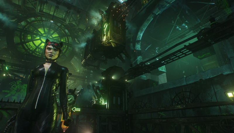 Illustration for article titled Arkham Knight's New Catwoman And Robin DLC Is A Drag