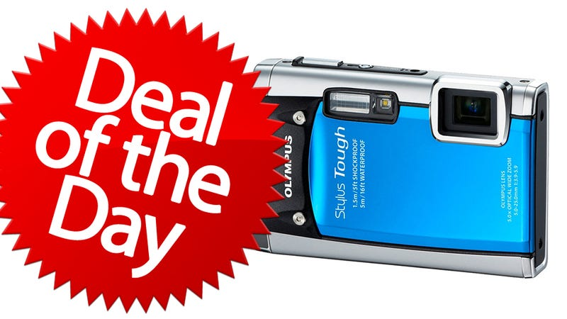 Illustration for article titled This Olympus Stylus 8010 Is Your Clumsy-Proof Gadget Deal of the Day
