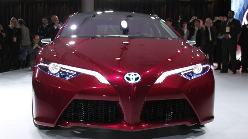 Illustration for article titled Toyota NS4 Concept: 2012 Detroit Auto Show Live Photos