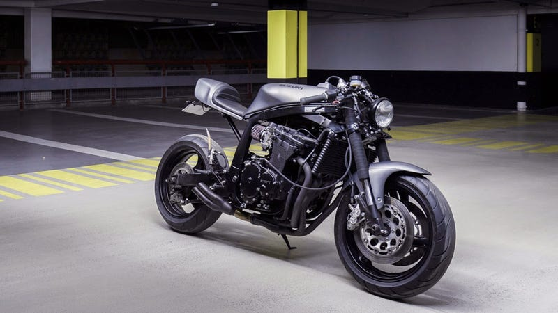 This Is How The French Do A Suzuki Gsx R 750 Streetfighter