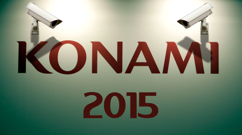 Illustration for article titled In 2015, Konami Had A Very Strange Year