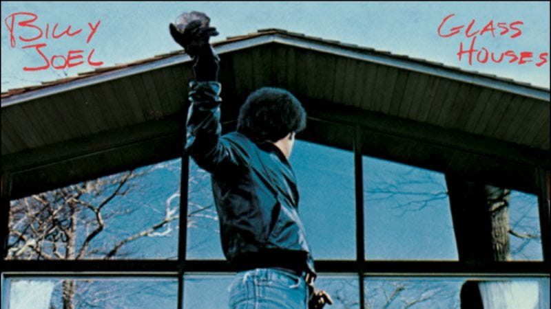 Illustration for article titled With Glass Houses, Billy Joel attempted to overhaul his image