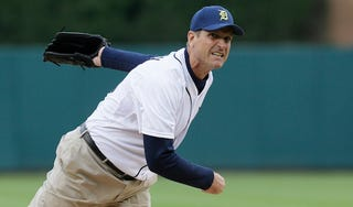 Illustration for article titled Jim Harbaugh, Colin Cowherd Combine For A Disastrous Interview