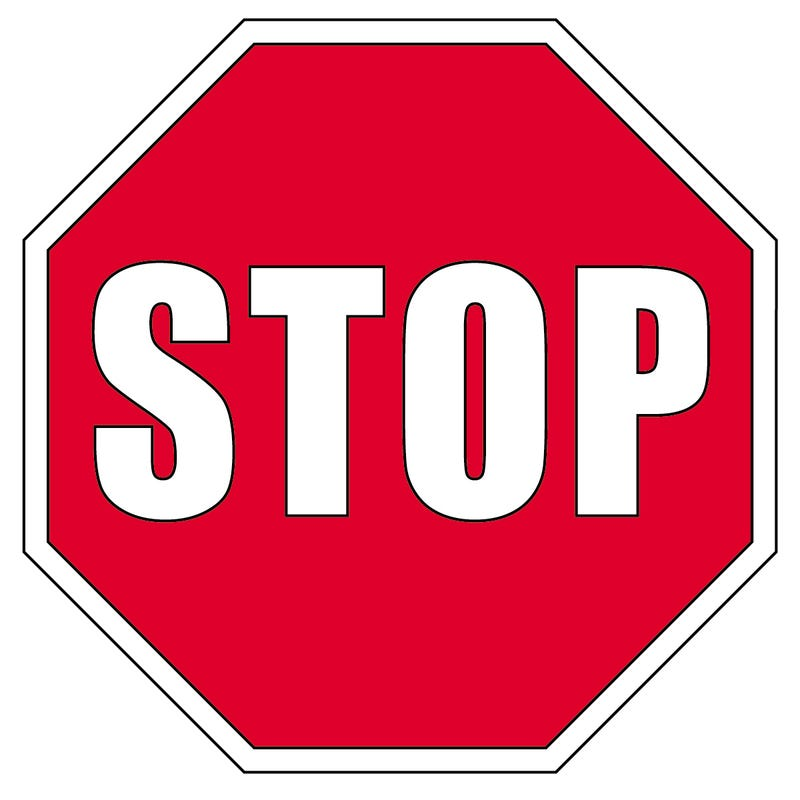 Illustration for article titled Stop!