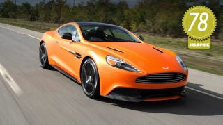 Illustration for article titled 2014 Aston Martin Vanquish: The Jalopnik Review