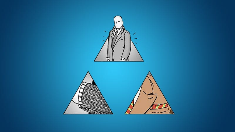 Illustration for article titled Select the Clothes That'll Look Best on You with the Style Pyramid