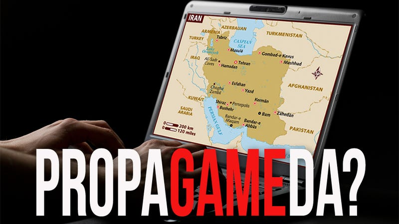 Illustration for article titled Alleged Iranian Spy 'Confesses' that U.S. Video Game Company is CIA Propaganda Tool