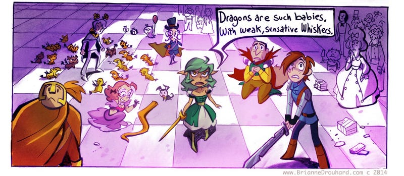 Illustration for article titled Someone Needs To Turn This Delightful Webcomic Into An Animated Series