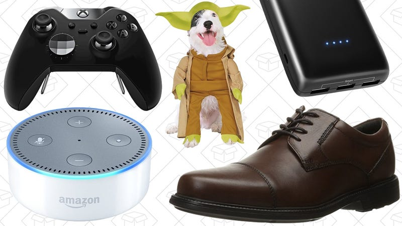 Illustration for article titled Today's Best Deals: Star Wars Gifts, Xbox One Elite Controller, Shiny New Shoes, and More