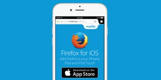 Illustration for article titled A Finished Version of Firefox for iOS Is Finally Available on the App Store