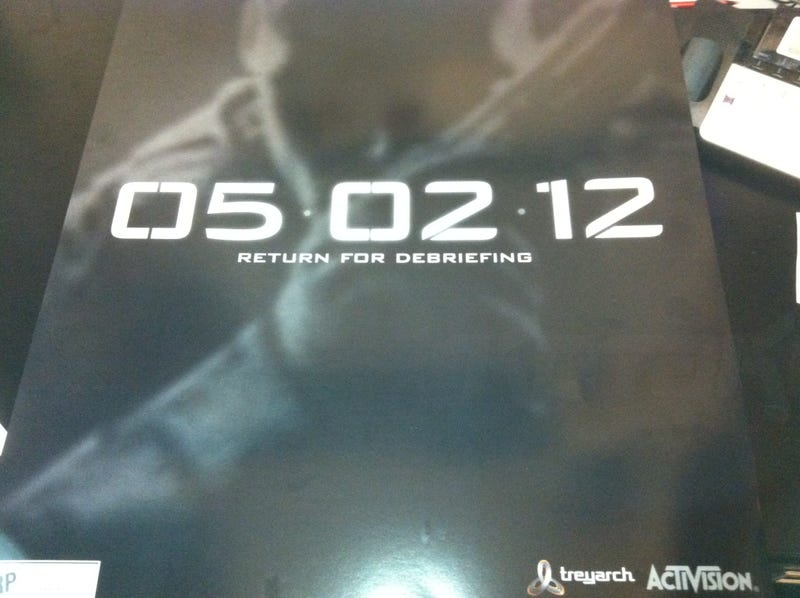 Illustration for article titled Is This an Official Poster for Call of Duty: Black Ops 2?