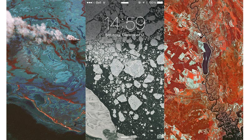 Illustration for article titled These Aerial Photos Make For Incredible Phone Backgrounds