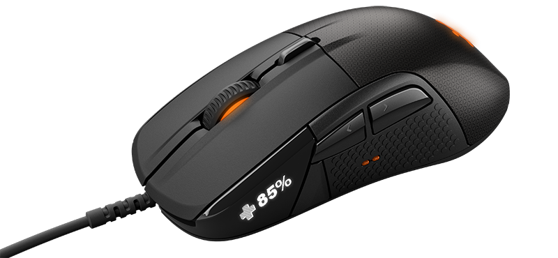 Illustration for article titled New 'Smart Gaming Mouse' Has A Tiny Screen On It For Some Reason