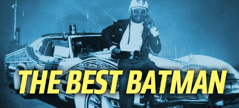 Illustration for article titled The Best Batman Ever Drove A Custom Atari-Equipped '71 T-Bird